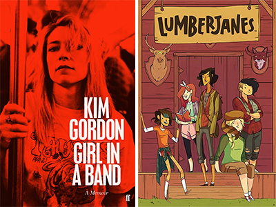 New Books: Girl in a Band, The Wes Anderson Collection, Lumberjanes