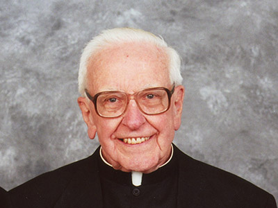 Fond Farewell to Fr. Richardson