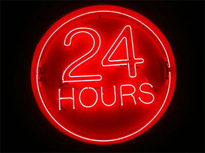 John T. Richardson Library open 24 hours for finals