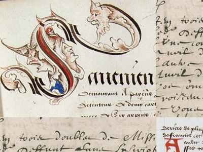 DePaul Special Collections Contributes to New French Renaissance Paleography Website