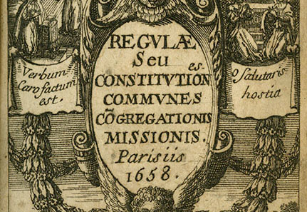 St. Vincent's Reading List XVIII: The Common Rules of the Congregation of the Mission