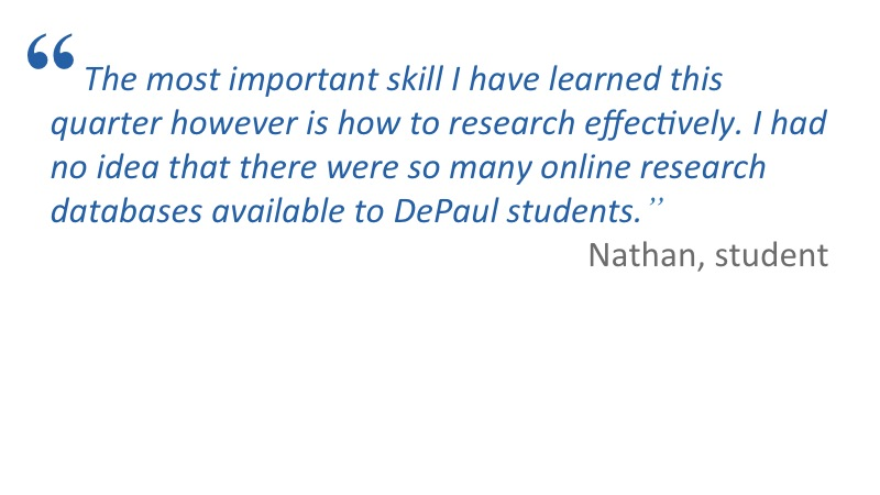 Faculty and Student Testimonials