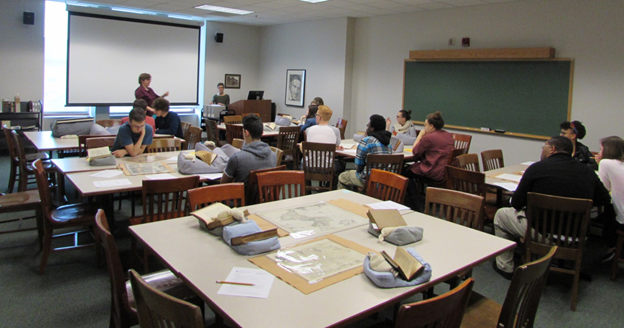 Special Collections Instruction Session